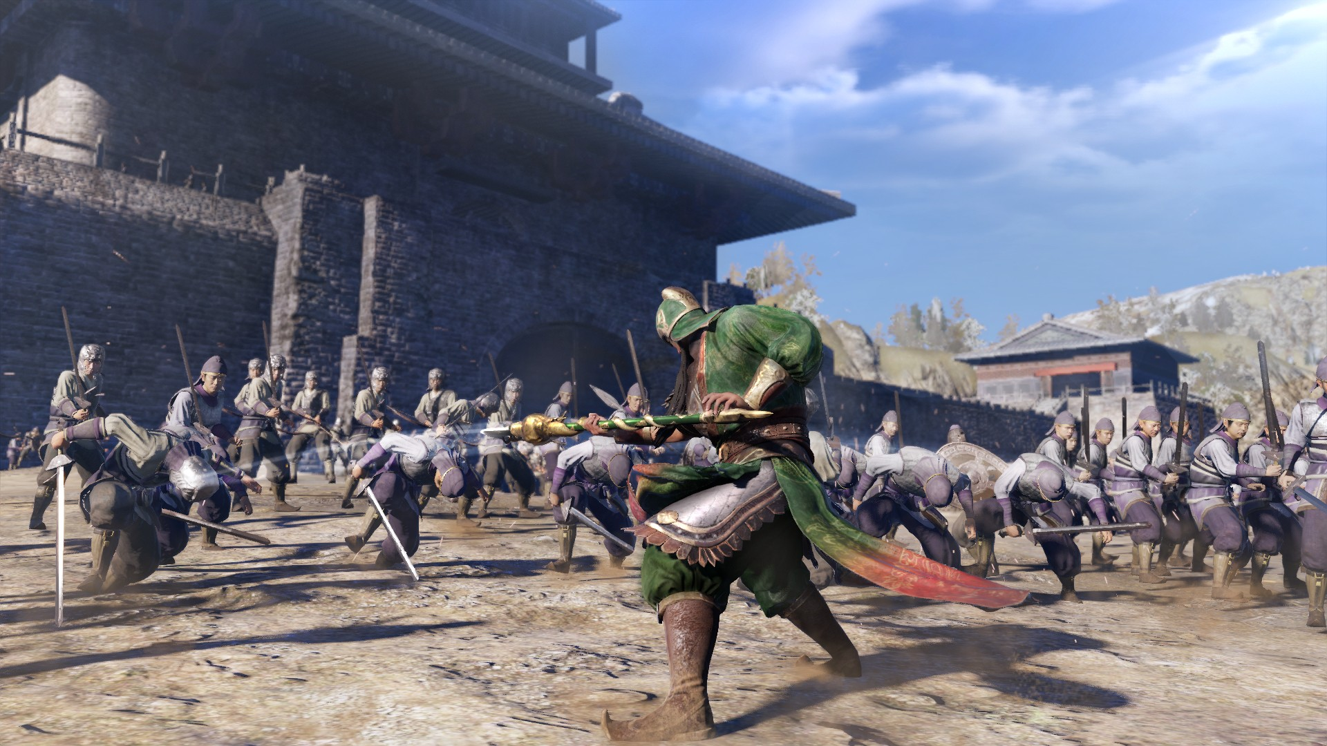 Dynasty-Warriors9-battle-before-the-Gate