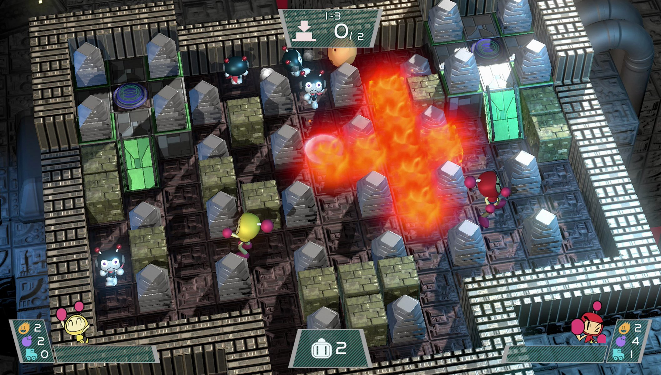 Super Bomberman R - Nintendo Switch Screenshots (1)