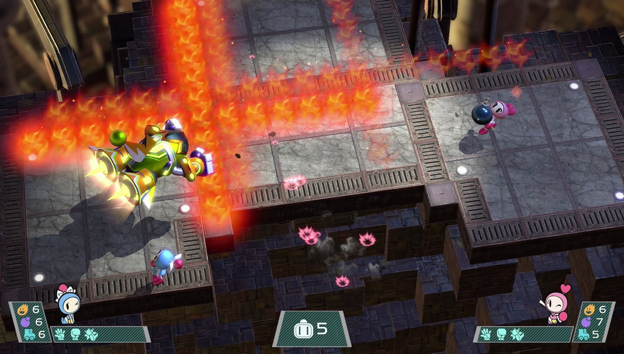 Super Bomberman R - Nintendo Switch Screenshots (10)