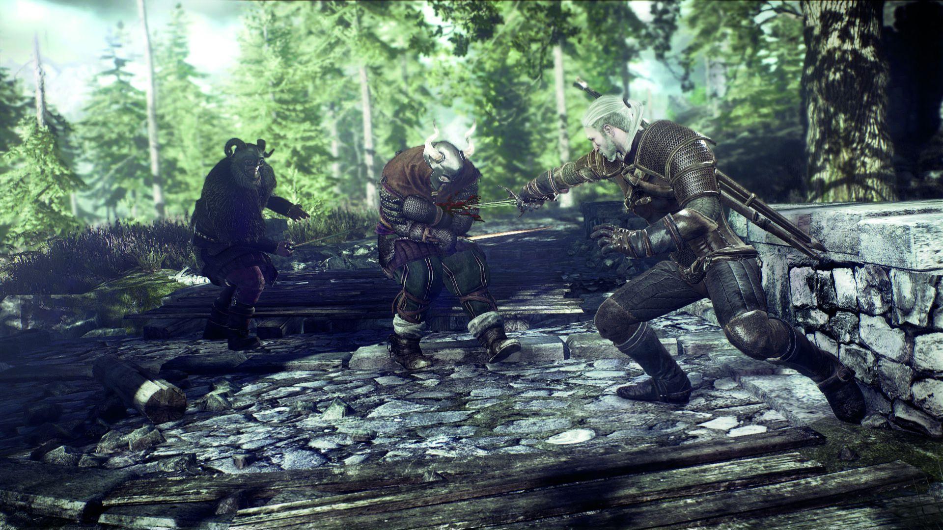 6259_the_witcher_3_wild_hunt_geralt_fighting_bandits