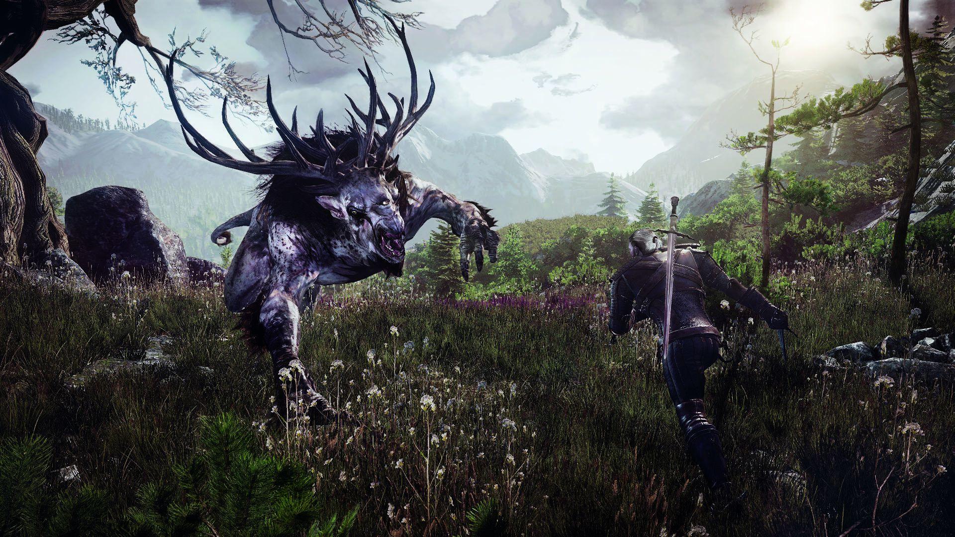 6260_the_witcher_3_wild_hunt_geralt_fighting_the_fiend