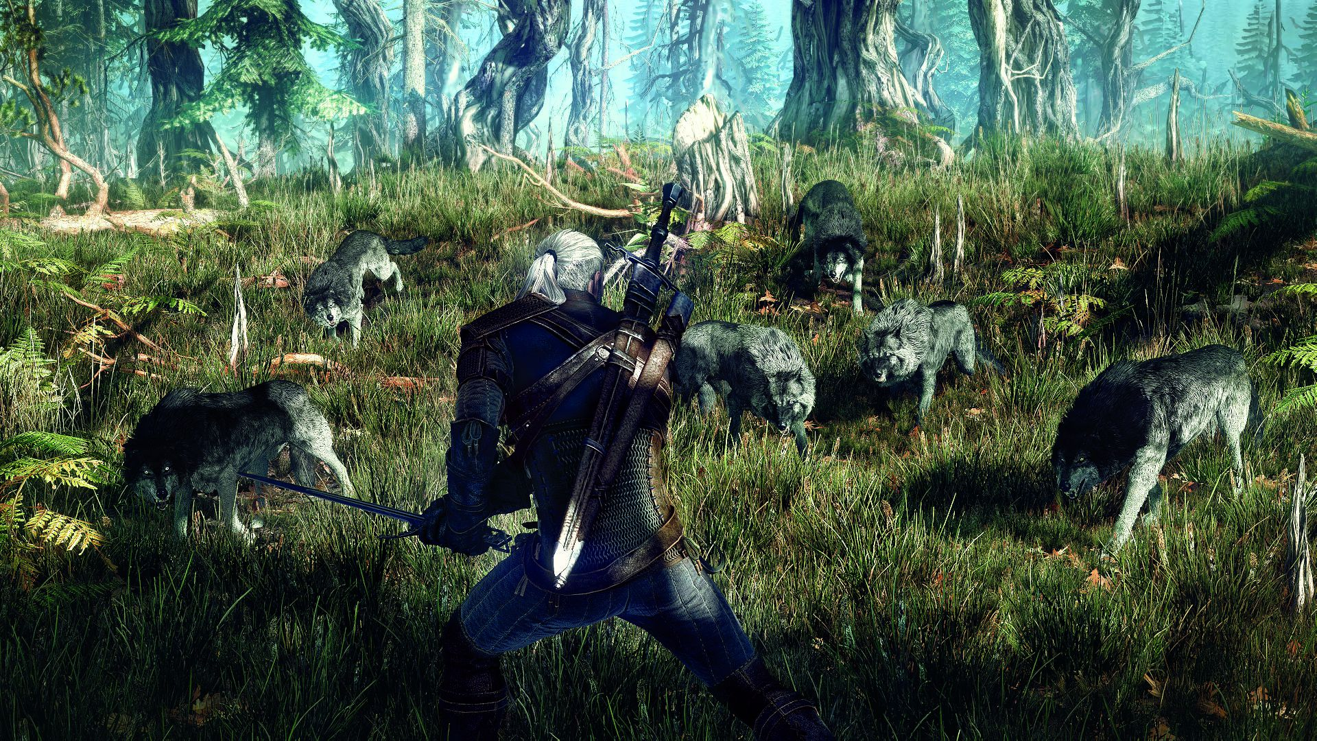 6264_the_witcher_3_wild_hunt_geralt_surrounded_by_wolves