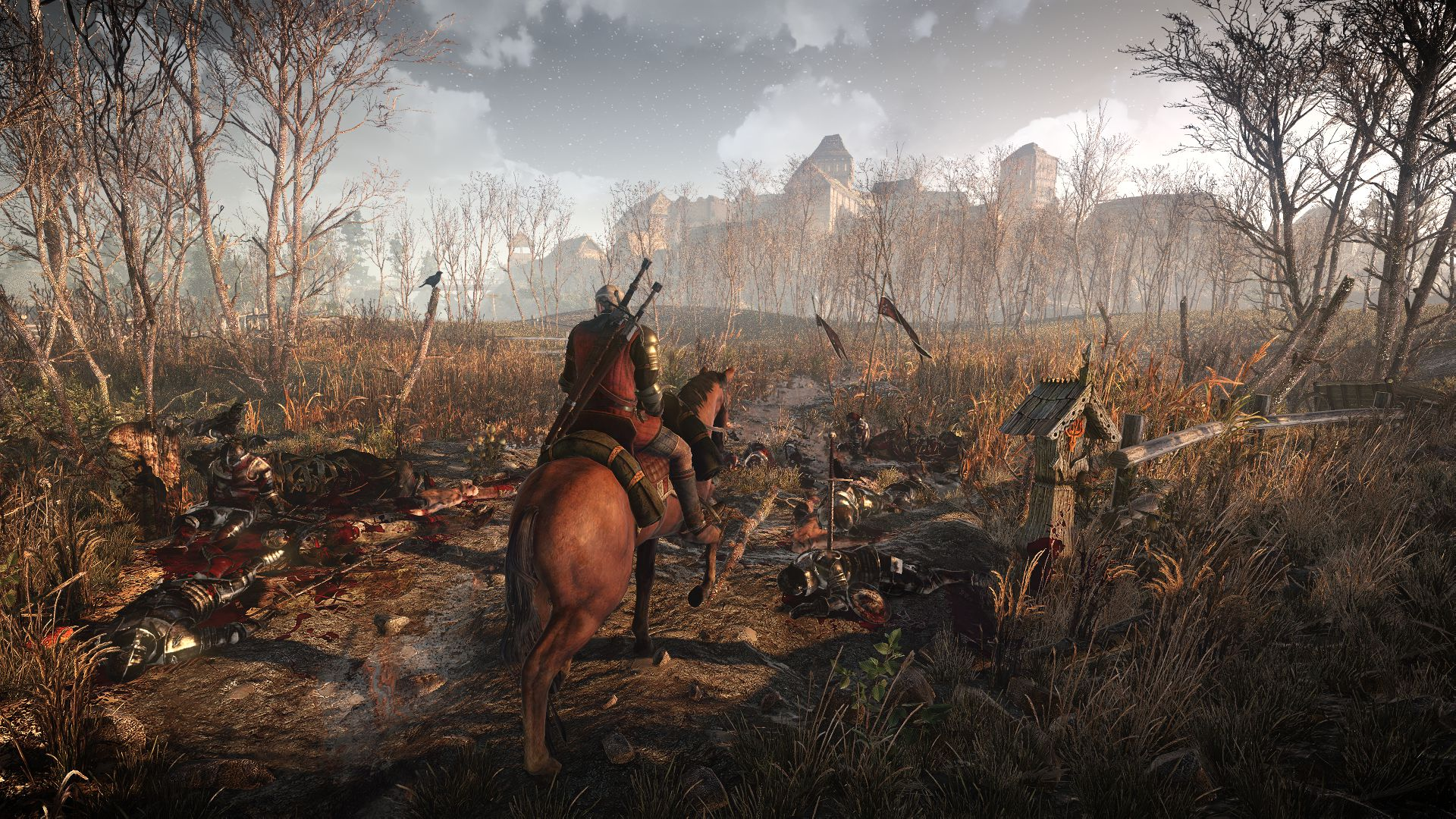 the_witcher_3_wild_hunt__geralt_travels_through_war_ravaged_territory_1402422223