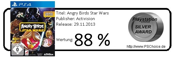 Angry Birds Star Wars PS4 - Die Wertung von Playstation Choice