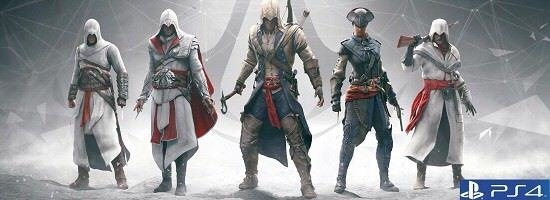 Asassins Creed 4 Black Flag PS4 Logo