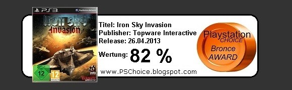 Iron Sky Invasion - Die Bewertung von Playstation Choice - It´s your Choice