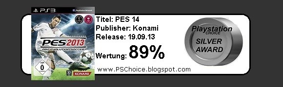Pro Evolution Soccer 2014 - PES 14 - Die Bewertung von Playstation Choice - It´s your Choice