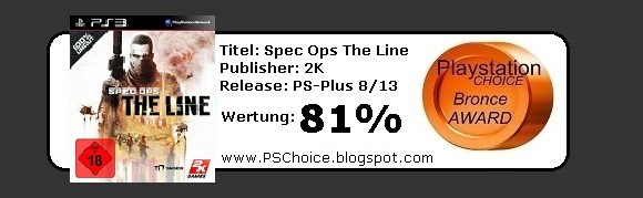 Spec Ops The Line PS-Plus digital Edition- Die Bewertung von Playstation Choice - It´s your Choice