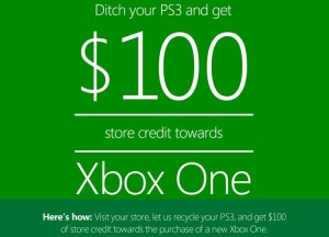 Xbox-One-Aktion