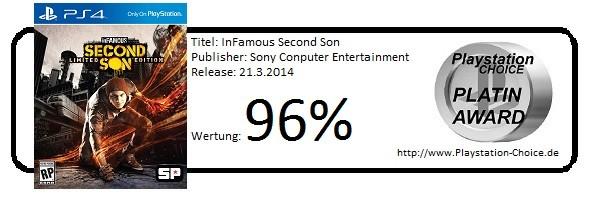 InFamous Second Son - Die Wertung von Playstation Choice