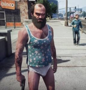 Trevor GTA 5 underwear
