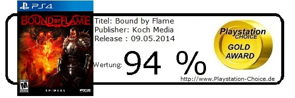 Bound by Flame PS4 - Die Wertung von Playstation Choice