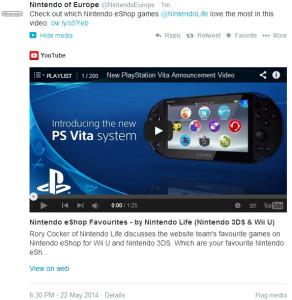 Nintendo Vita