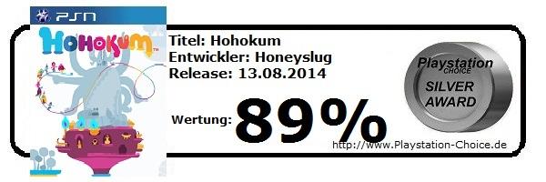 Hohokum - Playstation 4 - die Wertung von Playstation Choice