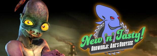 Oddworld New n Tasty Logo