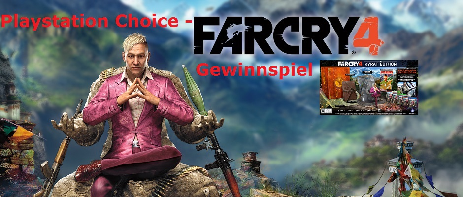 Farcry 4 Verlosung Feature