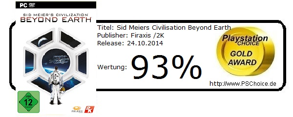 Sid Meiers Civilisation Beyond Earth - PC -Die-Wertung-von-Playstation-Choice