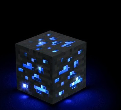 Minecraft-Lampe-Nachtlicht-Wuerfel-Diamond-Ore-Light-Up