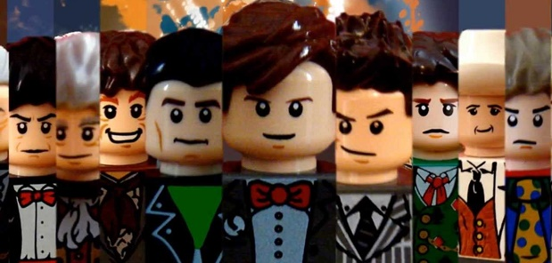 The official Lego Doctor Who Video Game The Doctor Logo