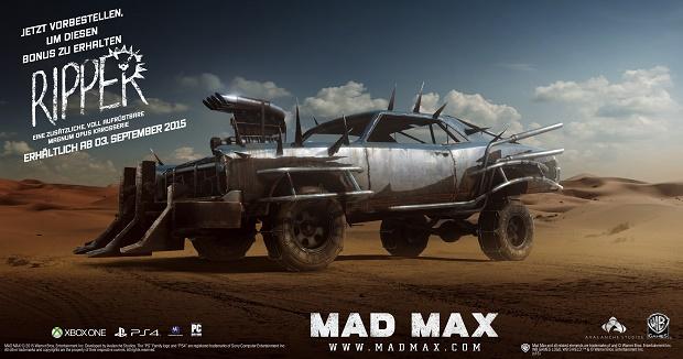 Mad Max Preorder klein