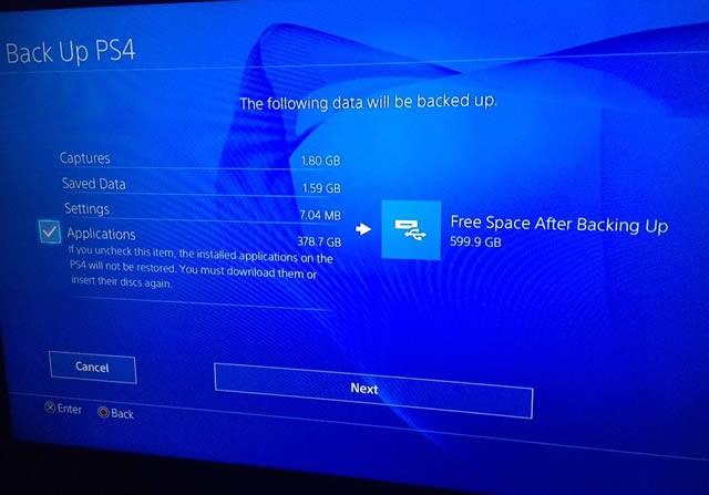 PS4 externe Festplatte