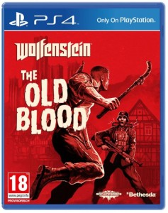 Wolfenstein the old Blood PS4 Cover