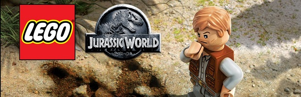 Lego Jurassic World PS4 Logo