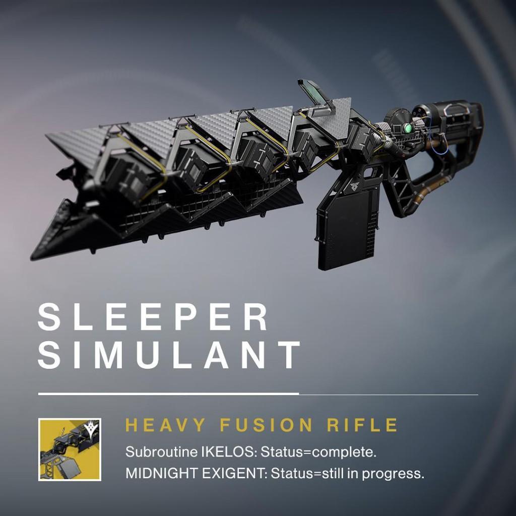 Destiny - schwere Fusionswaffe