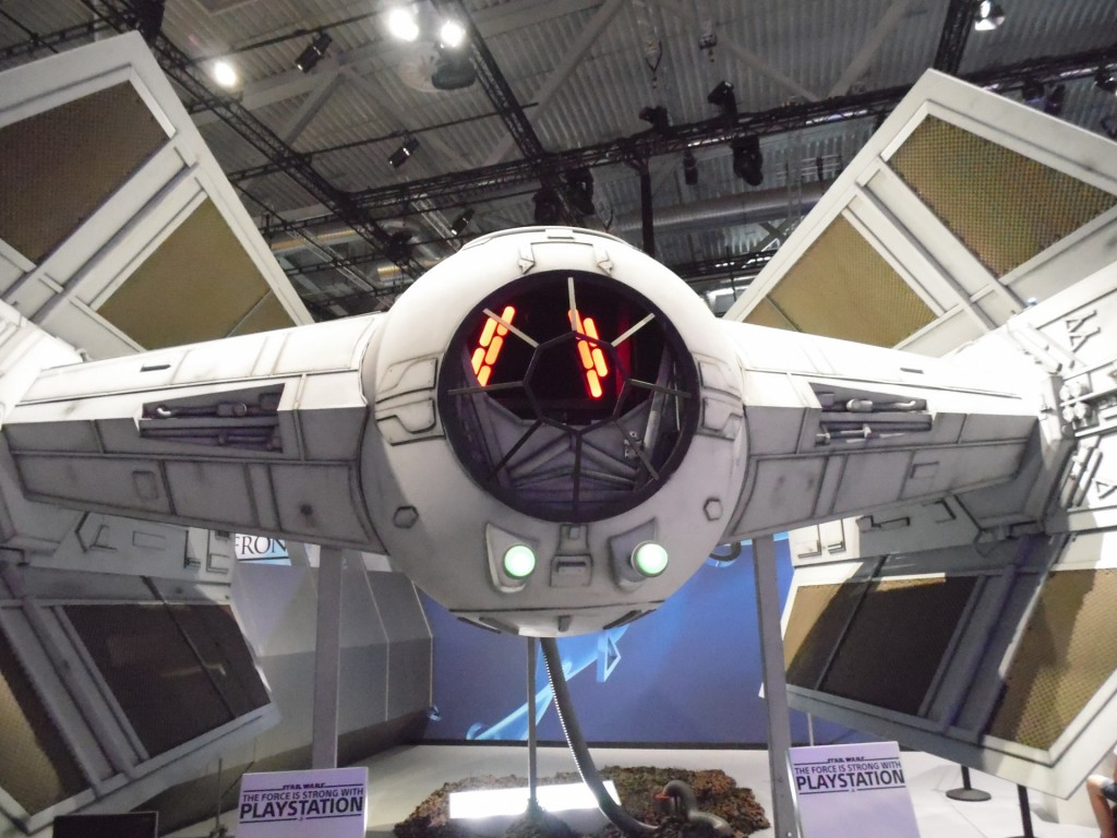 Tie Fighter, Star Wars Battlefront, Playstation, Gamescom