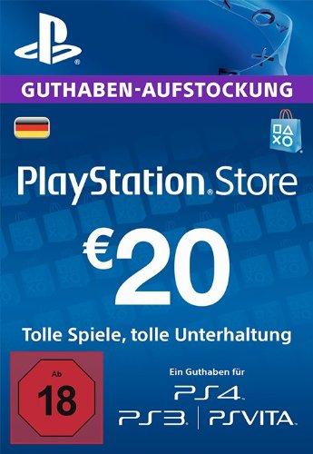 20 Euro PSN Guthaben