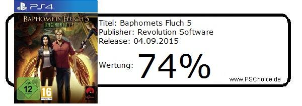 Baphomets Fluch 5-Die-Wertung-von-Playstation-Choice