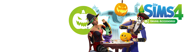 Die Sims 4 Grusel Accessoires Logo