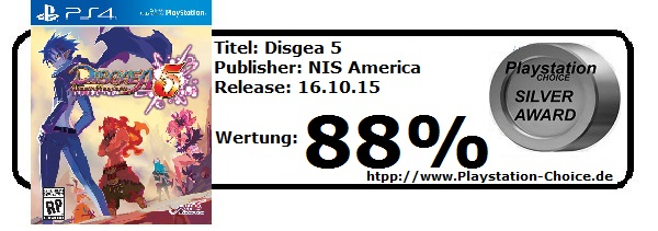 Disgea 5-Die-Wertung-von-Playstation-Choice