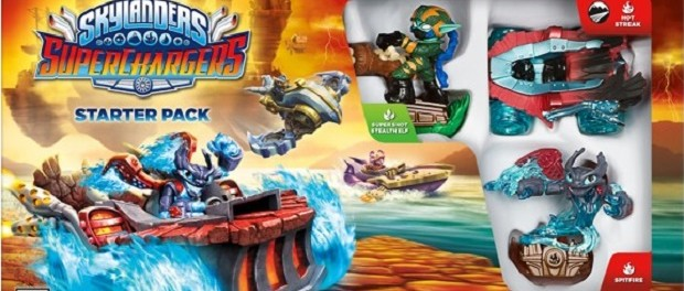 Skylanders Superchargers PS3 Cover