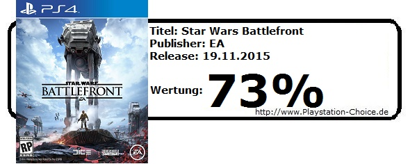 Star Wars Battlefront-PS4-Die-Wertung-von-Playstation-Choice
