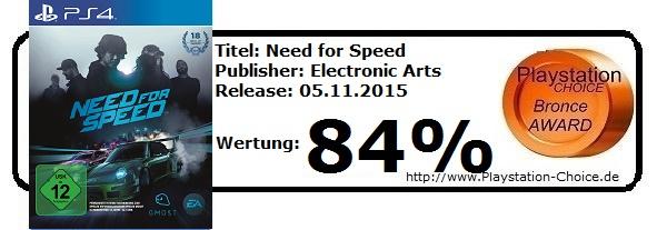 need for Speed-PS4-Die-Wertung-von-Playstation-Choice