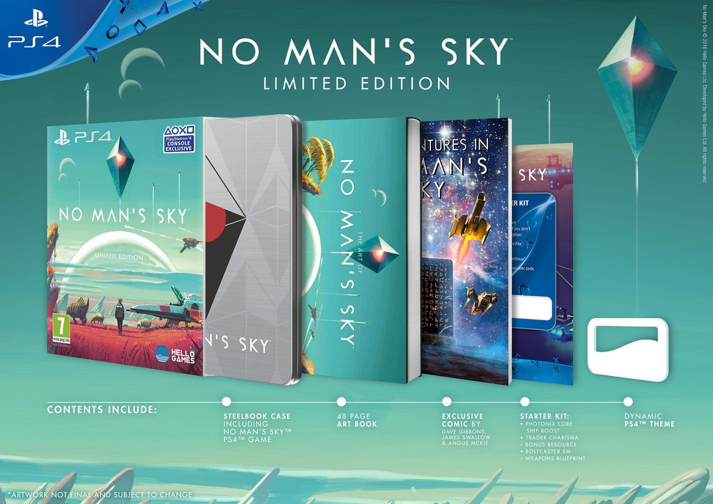 No Mans Sky Special Edition PS4