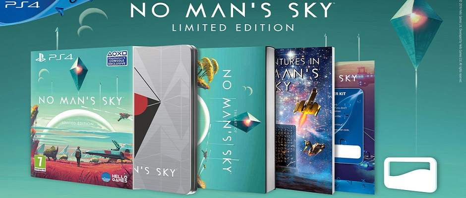 No Mans Sky Special Edition PS4 Feature