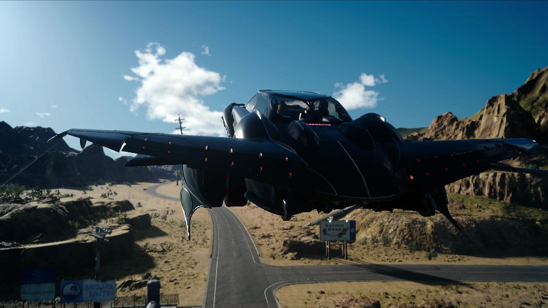 FFXV Flying Regalia