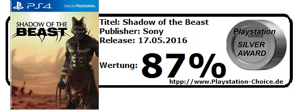 Shadow of the Beast-Die-Wertung-von-Playstation-Choice