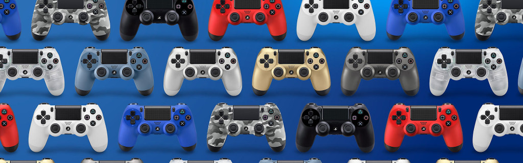 A lot of PS4 Controllers