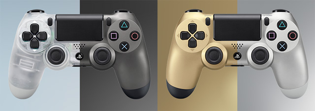 New Playstation Controllers all colors