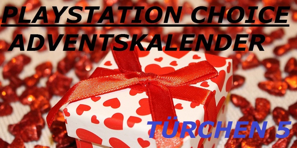 Playstation Choice Adventskalender Türchen 5